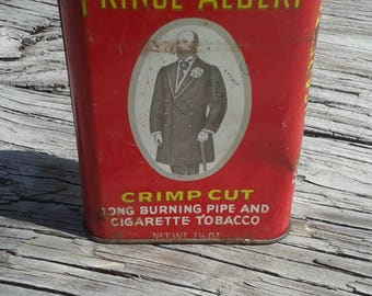 Prince Albert Pipe Tobacco Tin