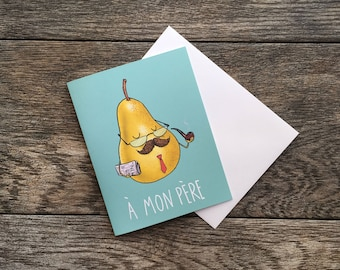 Father's Day Pear Greeting Card *UPDATED*