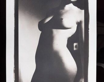 Platinum/Palladium Print: Nude No. 7840