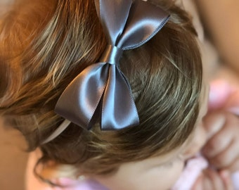 Satin ribbon fancy bow