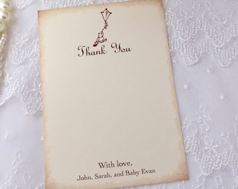 Winnie Pooh Thank You Cards Personalized Baby Shower Birthday Set of 10