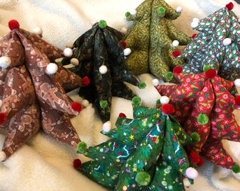 Fabric Christmas Tree  cute!!
