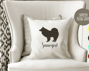 Personalized Samoyed Pillow Cover