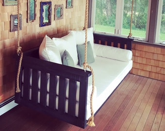 """Porch Swing: The """"Windermere"""" Swing Bed -- FREE SHIPPING! (Bedswing)"""