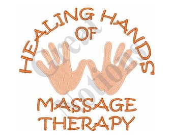 Healing Hands - Machine Embroidery Design