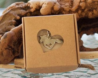 freedom wild foal pendant