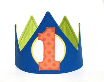 Monster boy first birthday party outfit, 1st birthday hat, party decorations, party supplies, first birthday crown, photo prop