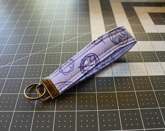 Police Box Key Fob | Wrist strap | Key chain