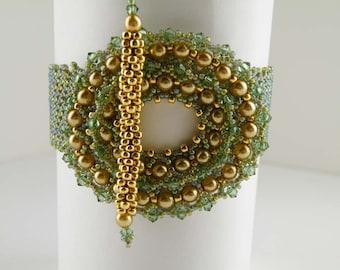 Beading Tutorial - Pearlescent Bracelet