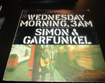 Simon and Garfunkel VG++ vinyl - Wednesday Morning 3 AM  -  Original Edition - VIntage cover  in VG+ Condition