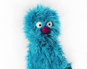 Blue Monster Professional Puppet