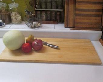 Handmade Cutting Board-Pine Bread Board-Butcher Block Board-Natural Wood Cutting Board-Farmhouse Cutting Board-Large Pine Cutting Board