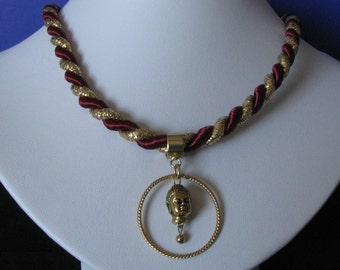Your gold Buddha pendant necklace