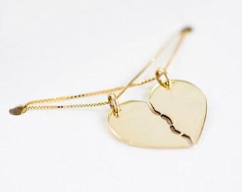 Shares Necklace, 14 Karat Gold