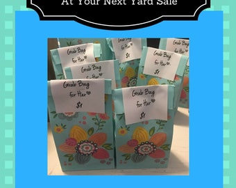 NEW! How to Make Instant Money at Your Yard Sale with Grab Bags Virtually Free and Easy! Step-by-Step e-book Download