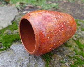 Ceramic vase Mother gift Stoneware vase Red vase Ceramic vase handmade Ceramic vase modern Large ceramic vase Pottery vase Drawing ceramic