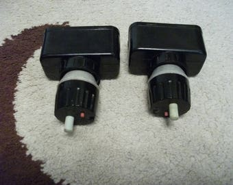 2 pcs, Automatic switches 250 V / 6,3 A, with ceramic patron 380V / 25А, made in USSR, 70s
