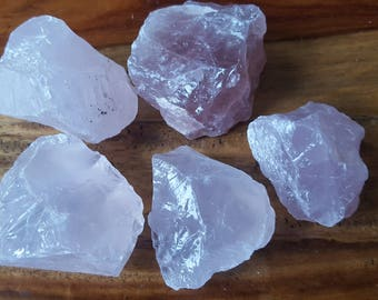 Rough Rose Quartz  - Gentle & Soothing - Stone of Unconditional Love