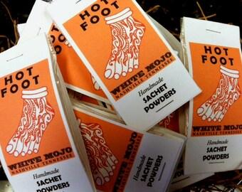 Hot Foot scent Powder - hoodoo - witchcraft - pagan