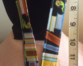 Book Worm Lanyard