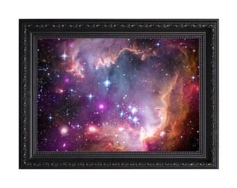 Small Magellanic Cloud Galaxy Nasa Poster or Art Print