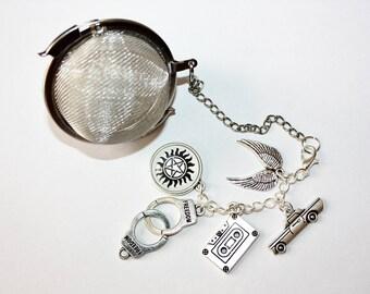 Supernatural Inspired Tea Infuser - Tea Ball - Fantasy - Tea Accessories