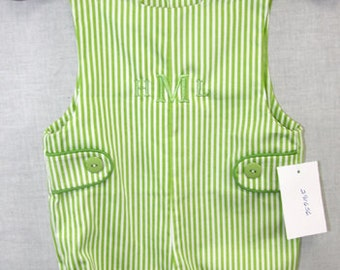 Sunsuit | Baby Boy Clothes | Baby Boy Romper | Playsuit | Jon Jon | Shortalls | Baby Clothes |Overall Shorts | Short Overalls 291656