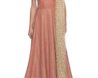 Long Dress Evening Gown Anarkali Salwar Kameez Bollywood Pakistani Bridal Designer Wedding Dress Party Wear