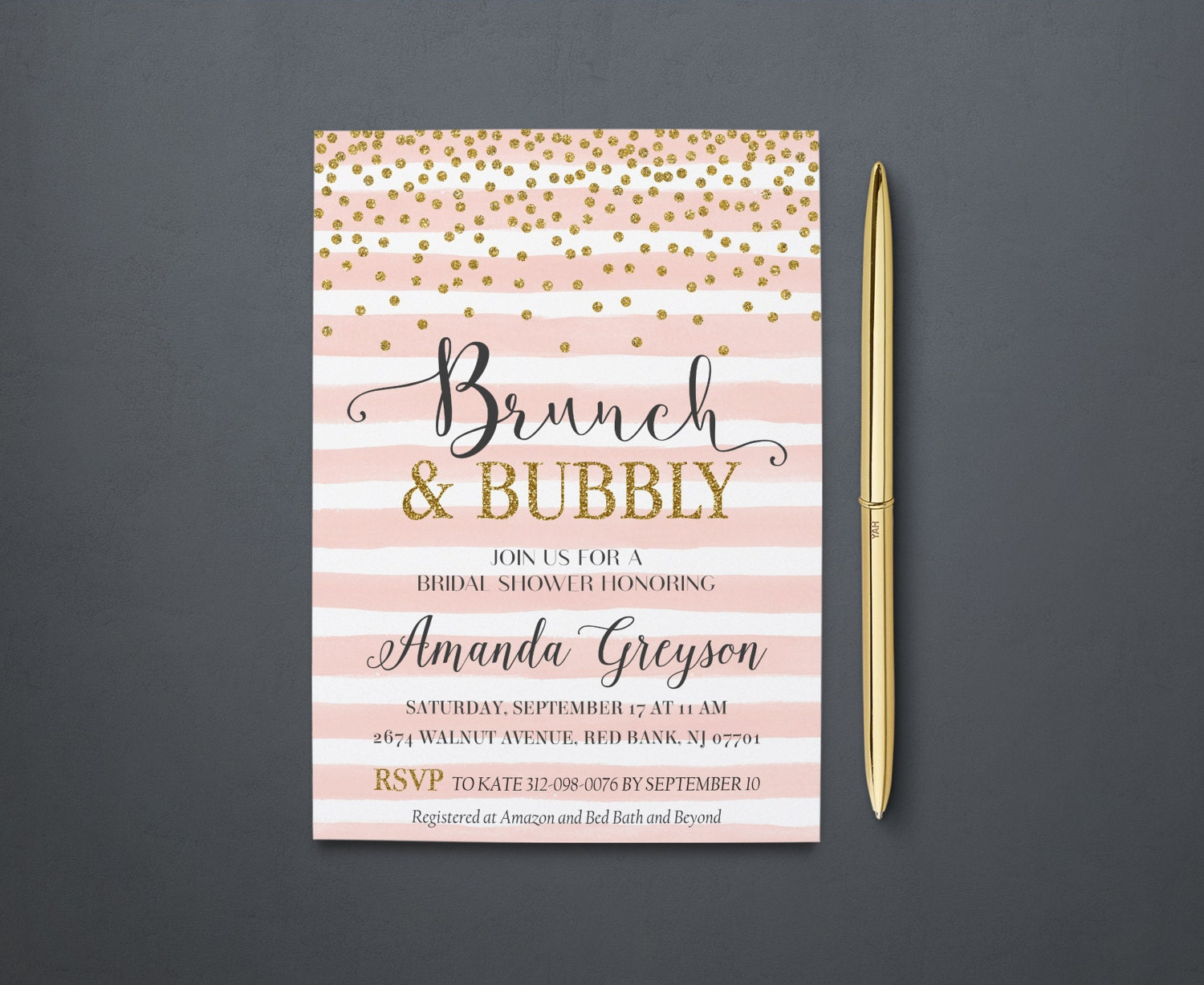 Brunch Invites Best Printable Invitation Design Ideas by Maggle Brooks