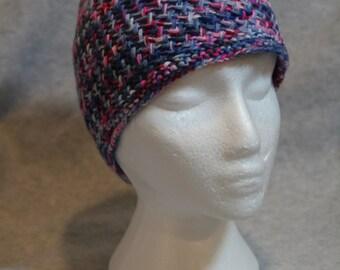 Sweetheart Herringbone Hat OOAK