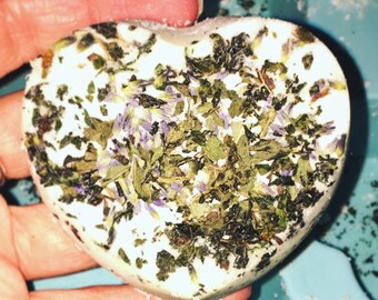 Lavender Peppermint Bath Bombs