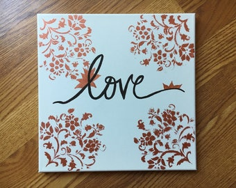 Love Canvas    Wall decor    art