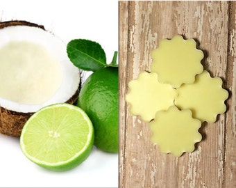 Coconut Lime Lotion Bars - 100% Natural, Non-Toxic and Made to Order!
