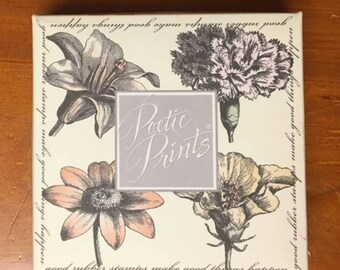 Hero Arts Blossom Etchings Stamp set