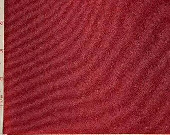 "Burgundy Red Twist Texture Rib Fabric 2 Way Stretch Polyester 12 Oz 60-62"" 230590"