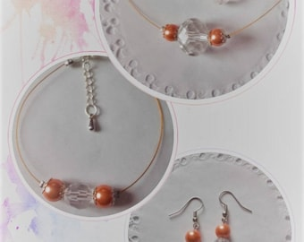 IBIZA collection orange wedding set