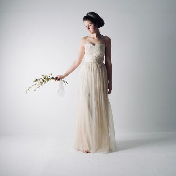 Hochzeitskleid Strand Brautkleid Boho Brautkleid
