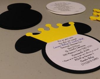 Diy Mickey Mouse Party Invitations Solan Annafora Co
