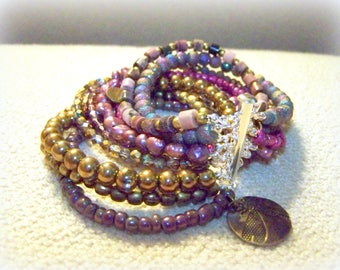 MULTI STRAND BRACELET ... a variety of colors