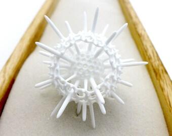 Spumellaria Radiolarian Desk Sculpture - Science Sculpture - Plankton Spumellaria Art  - Science Art - Micropaleontology