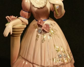 """Josef Collectable Gibson Girl """"Melonie"""" Porcelain Figurine"""