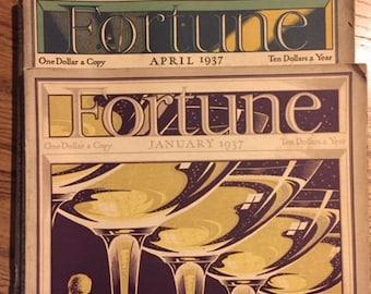 Three Fortune Magazines (1937)