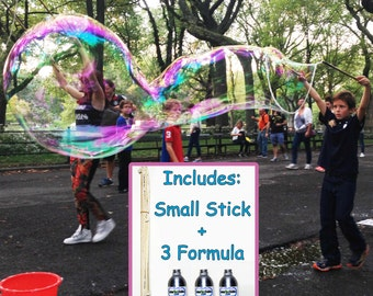 Small Stick Bubble Kit - JUST ADD WATER