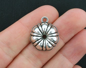 5 Bundt Pan Charms Antique Silver Tone 3D- SC3659