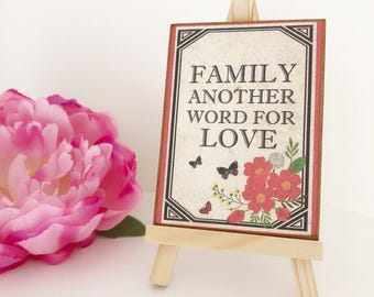 Family Another Word For Love...