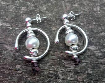 shop 50 hearts of zamak, one zamak earrings, woman earrings
