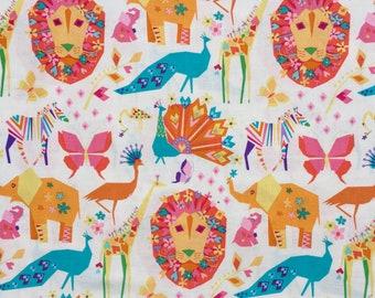 Origami Oasis Pride candy pink Tamara Kate Michael Miller fabric FQ or more