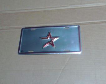 Houston Astros License Plate
