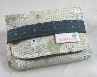 Sanitary Pad Holder, Bear Print, Pad Holder, Tampon Case, Sanitary Pad Case, Tampon Holder, Sanitary Napkins, Period Case, Swiss Cross Print