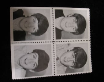 1960s Beatle Stamps